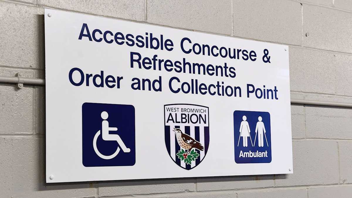 Sensory area for children with autism at WBA Football Club